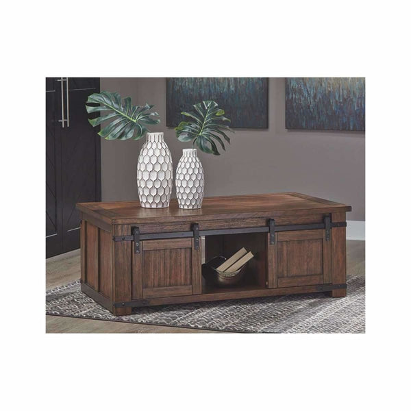 Budmore Coffee Table - COFFEE TABLE