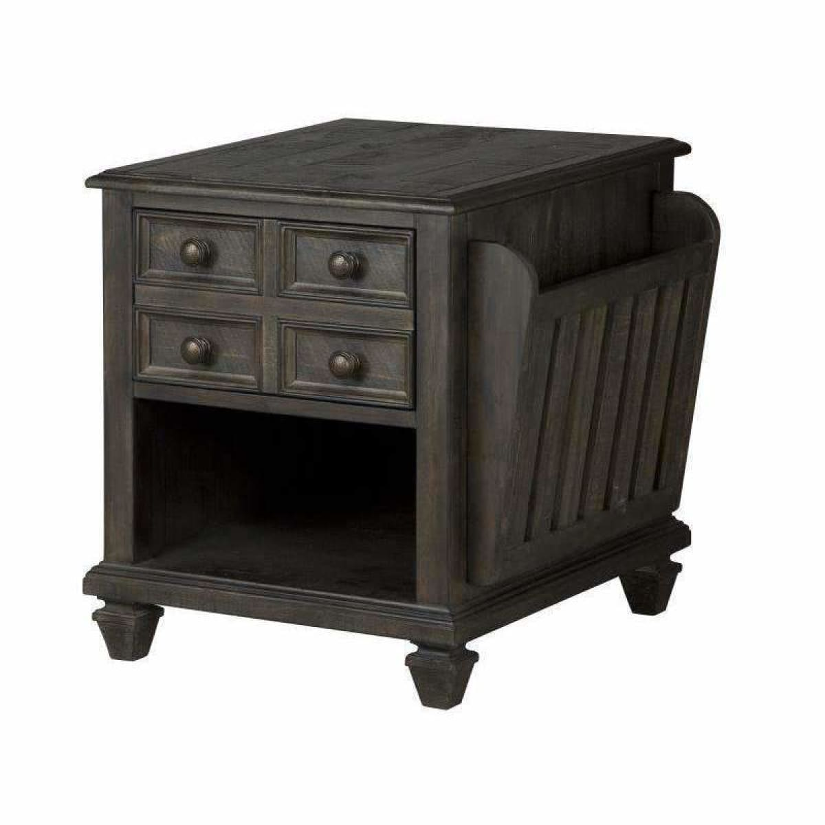 Burkhardt Magazine End Table - END TABLE/SIDE TABLE