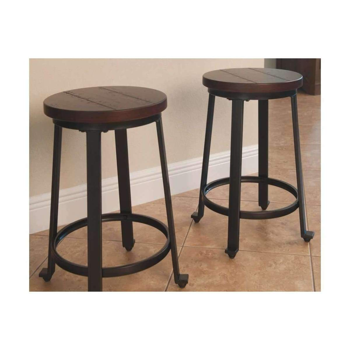 Challiman Counter Height Bar Stool - BAR STOOL