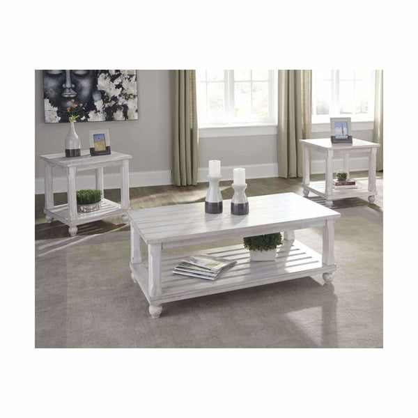 Cloudhurst 3PC Coffee Table - COFFEE TABLE