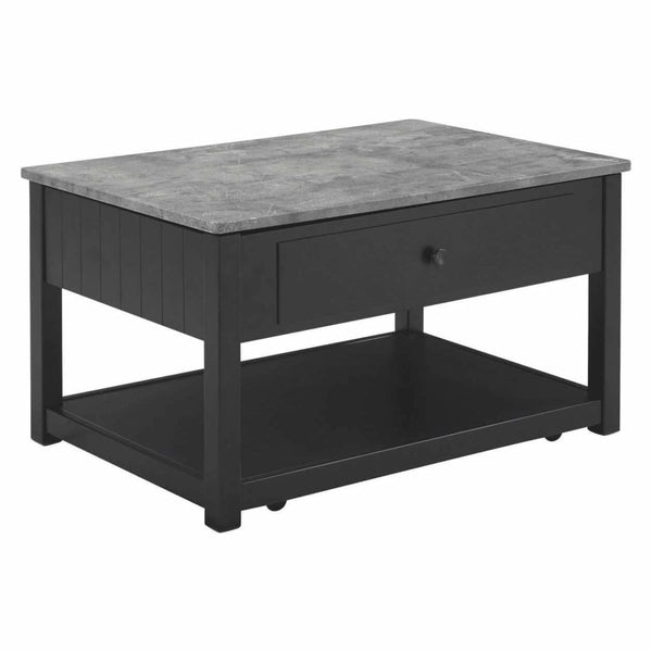 Ezmonei Coffee Table with Lift Top - COFFEE TABLE