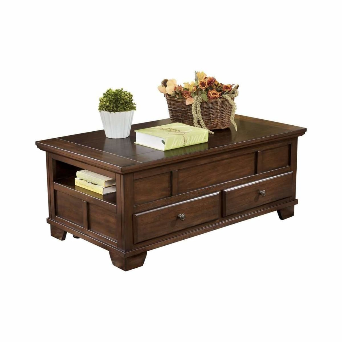 Gately Coffee Table with Lift Top - COFFEE TABLE