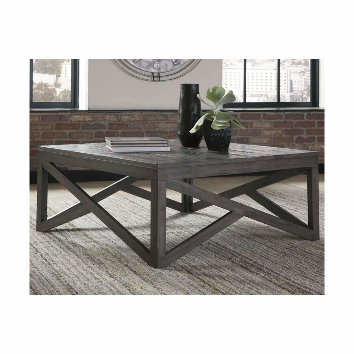 Haroflyn Coffee Table - COFFEE TABLE