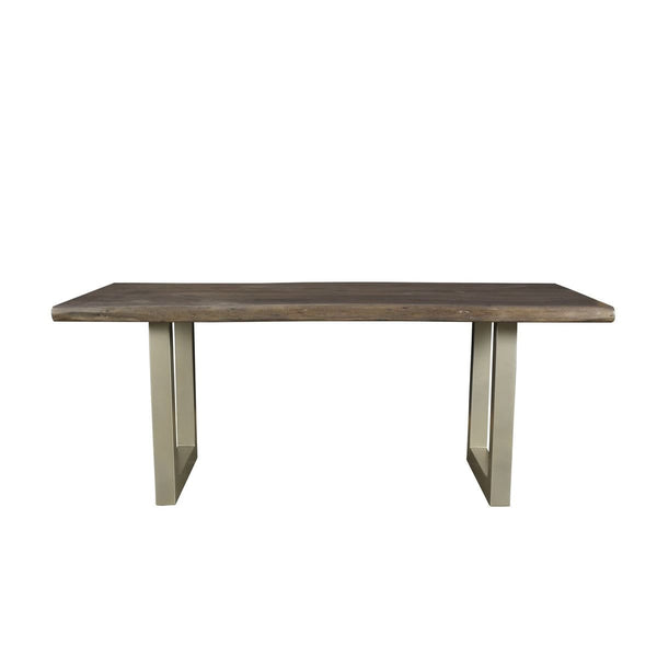 Kit Dining Table - BASE ONLY : Nickel U Tube - DININGCOUNTERHEIGHT