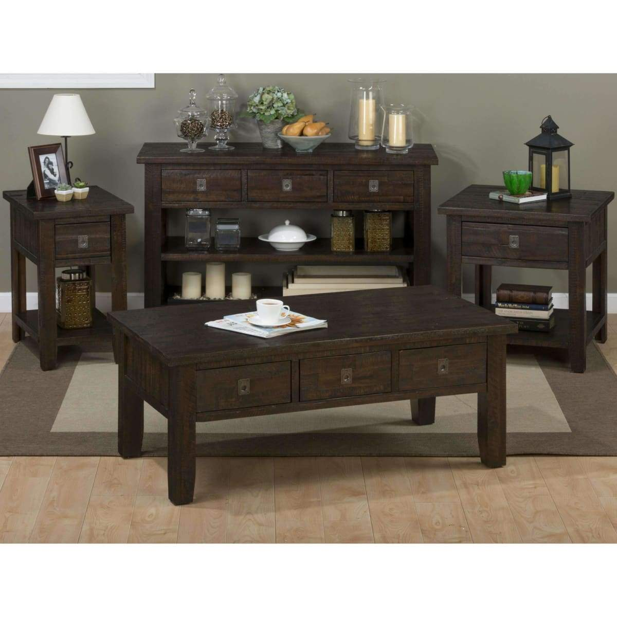 Kona Grove Cabinet Chairside Table - END TABLE/SIDE TABLE