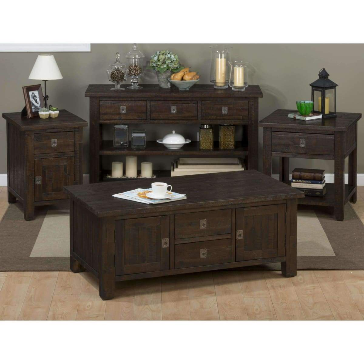 Kona Grove Rectangle Box Cocktail Table - COFFEE TABLE