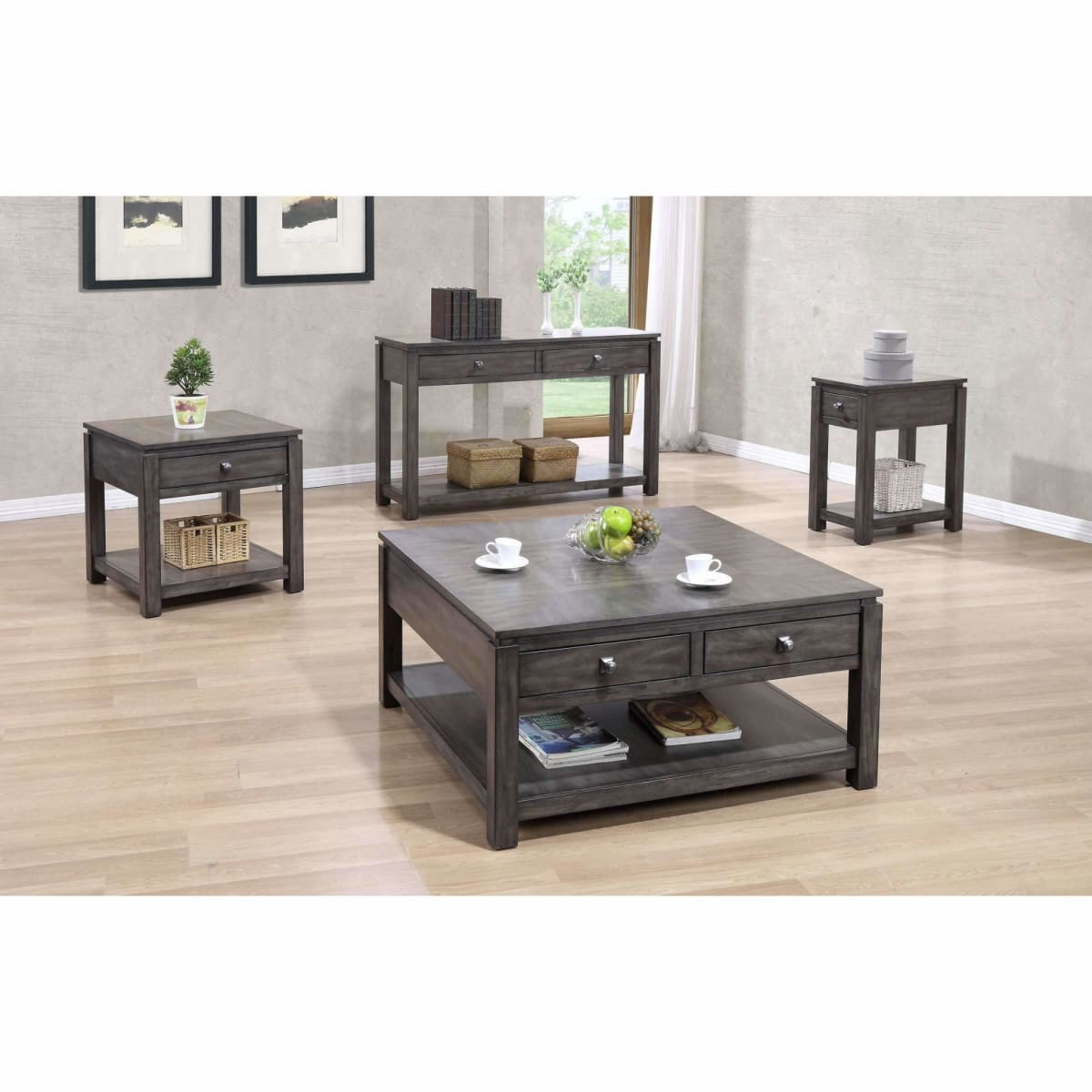 Lancaster 24 End Table - END TABLE/SIDE TABLE