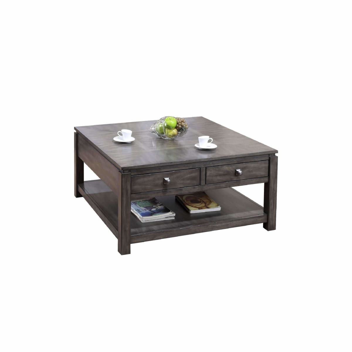 Lancaster 40 Square Coffee Table - COFFEE TABLE