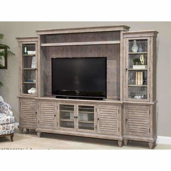 Lancaster Entertainment Wall Unit - ENTERTAINMENT CONSOLE