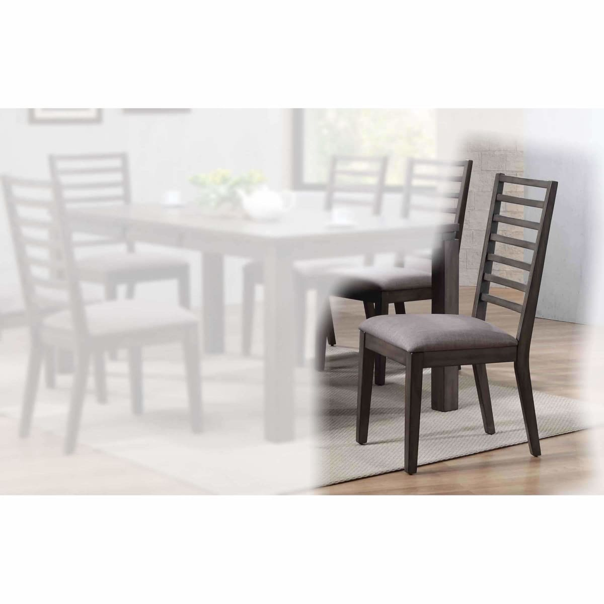Lancaster Ladderback Side Chair - dining chairs