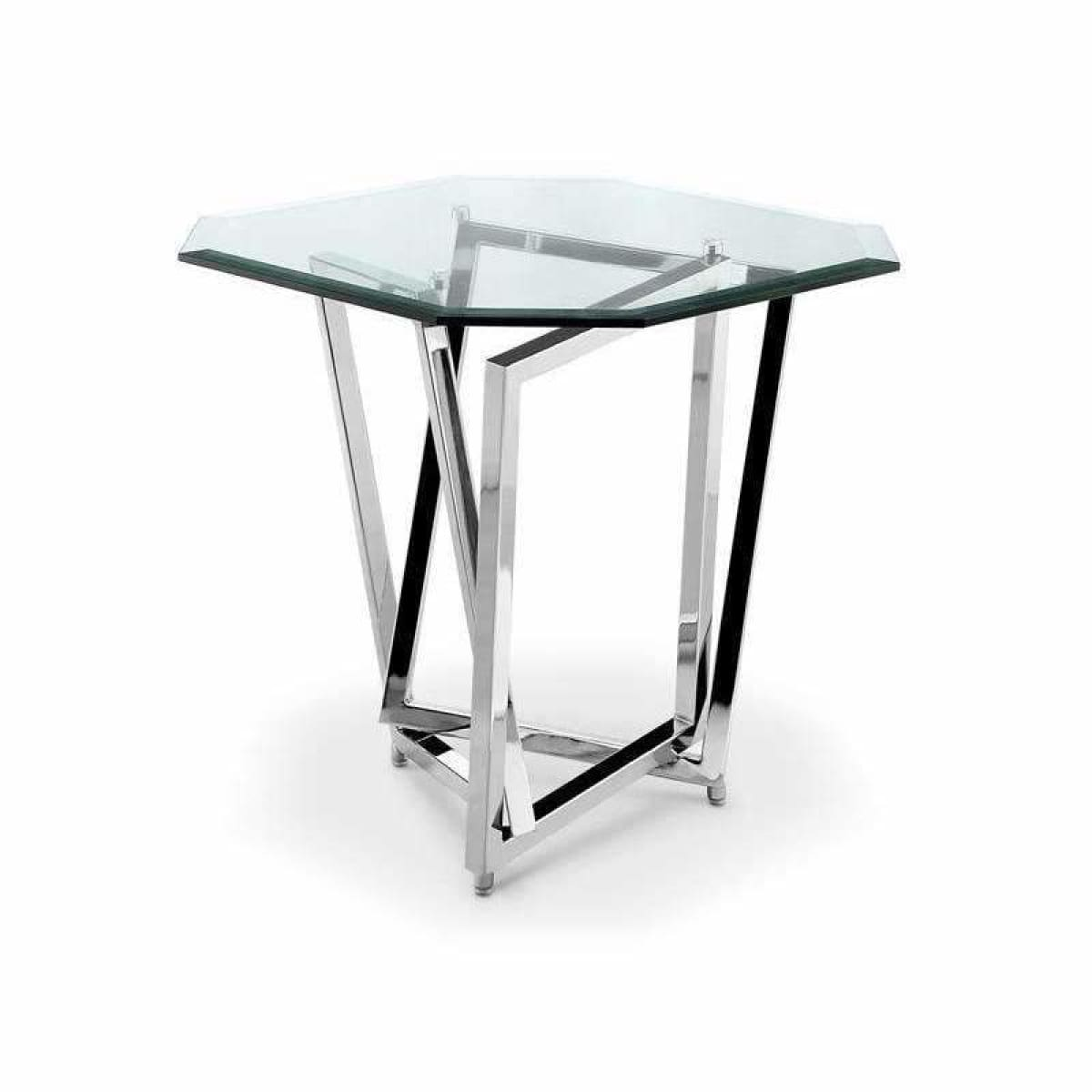 Lenox SquareOctoganal End Table - END TABLE/SIDE TABLE