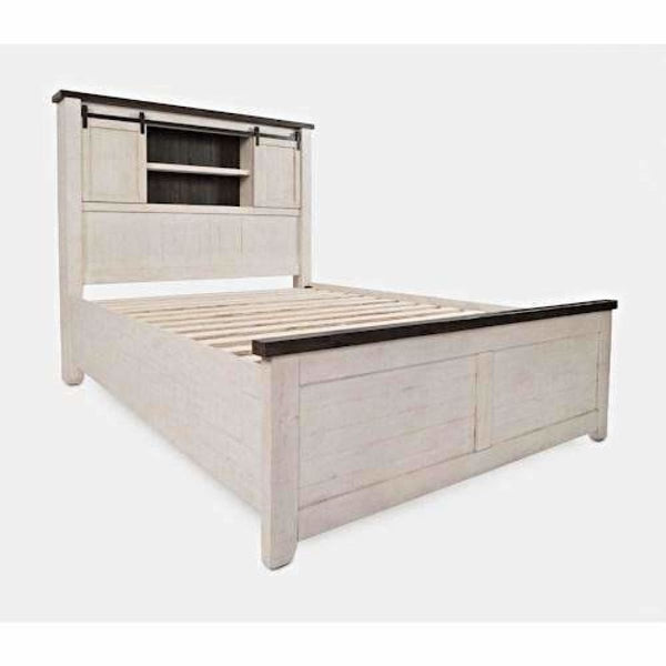 Madison Country Barn Door Beds- White - BED