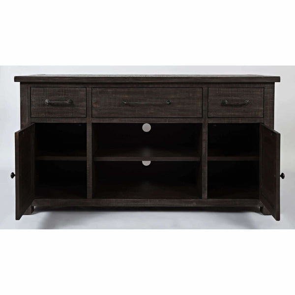 Madison County Barnwood 60 Console - ENTERTAINMENT CONSOLE