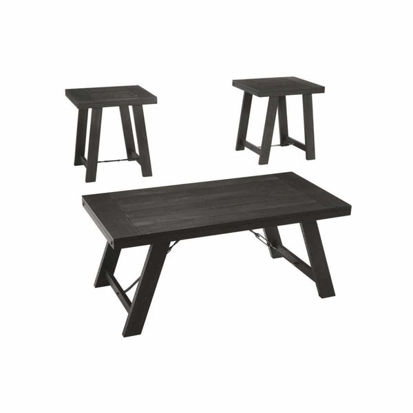 Noorbrook 3PC Coffee Table - COFFEE TABLE
