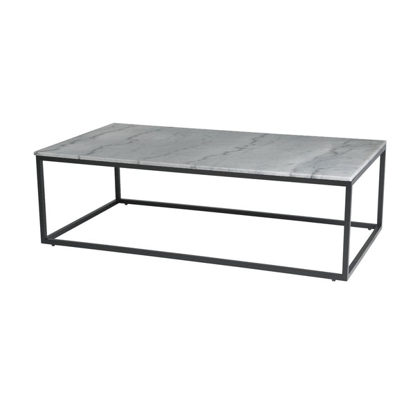Payton Coffee Table - Grey Marble Top - COFFEE TABLE