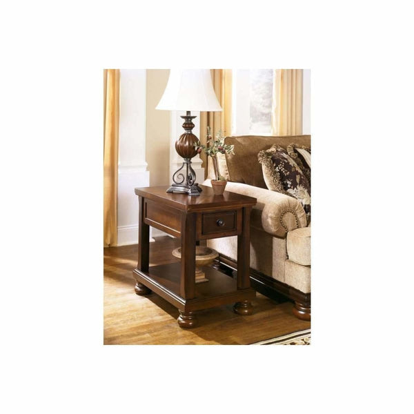 Porter Chair Side End Table - END TABLE/SIDE TABLE