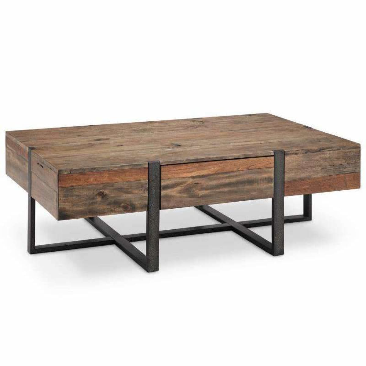 Prescott Rectangular Cocktail Table - COFFEE TABLE