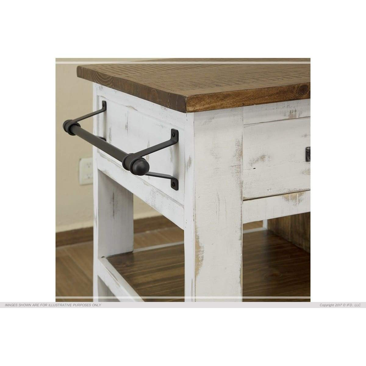Pueblo Kitchen Island - Kitchen Island