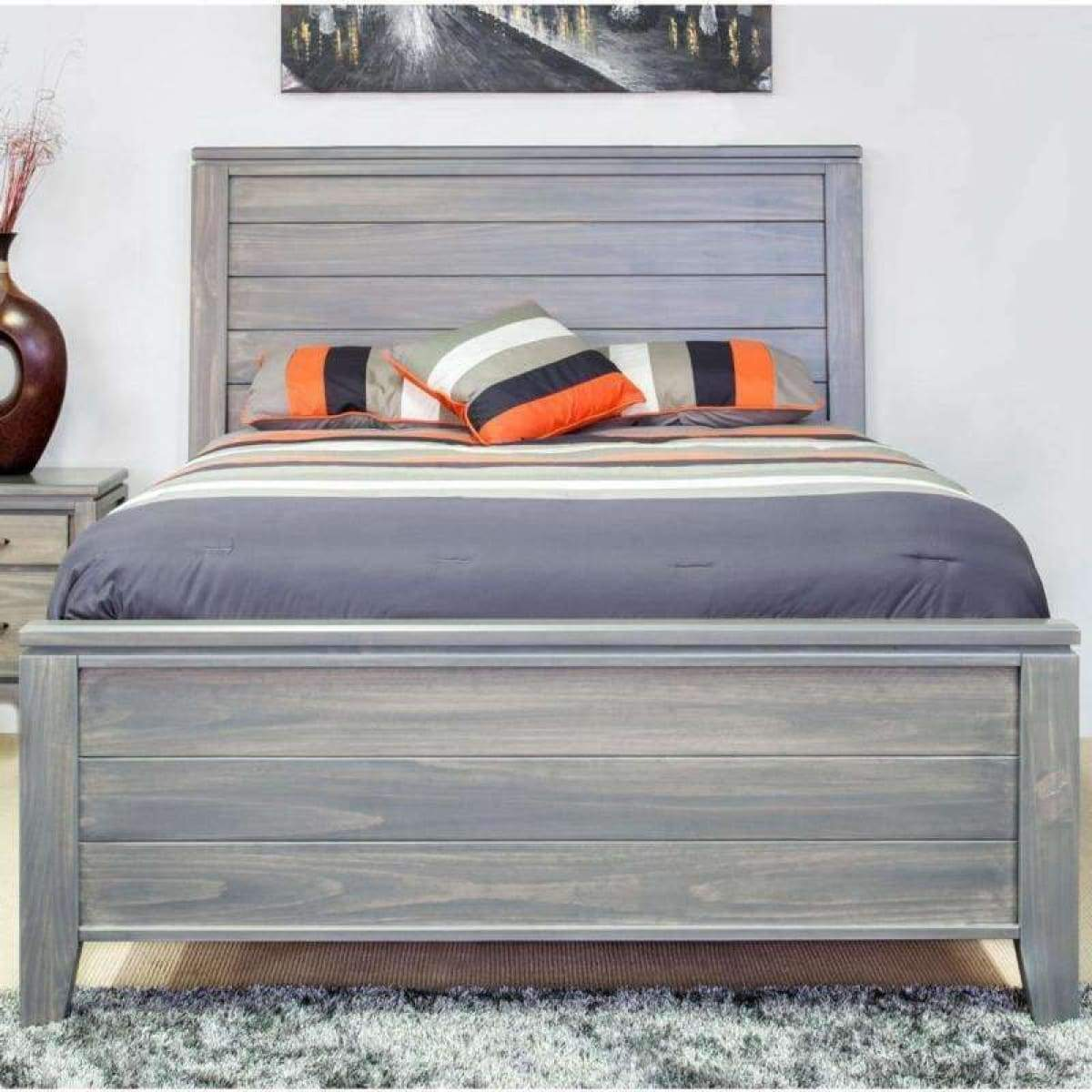 Robina Queen Panel Bed - BED