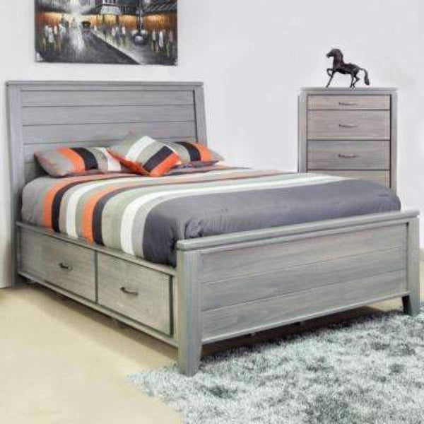 Robina Queen Storage Bed - bed