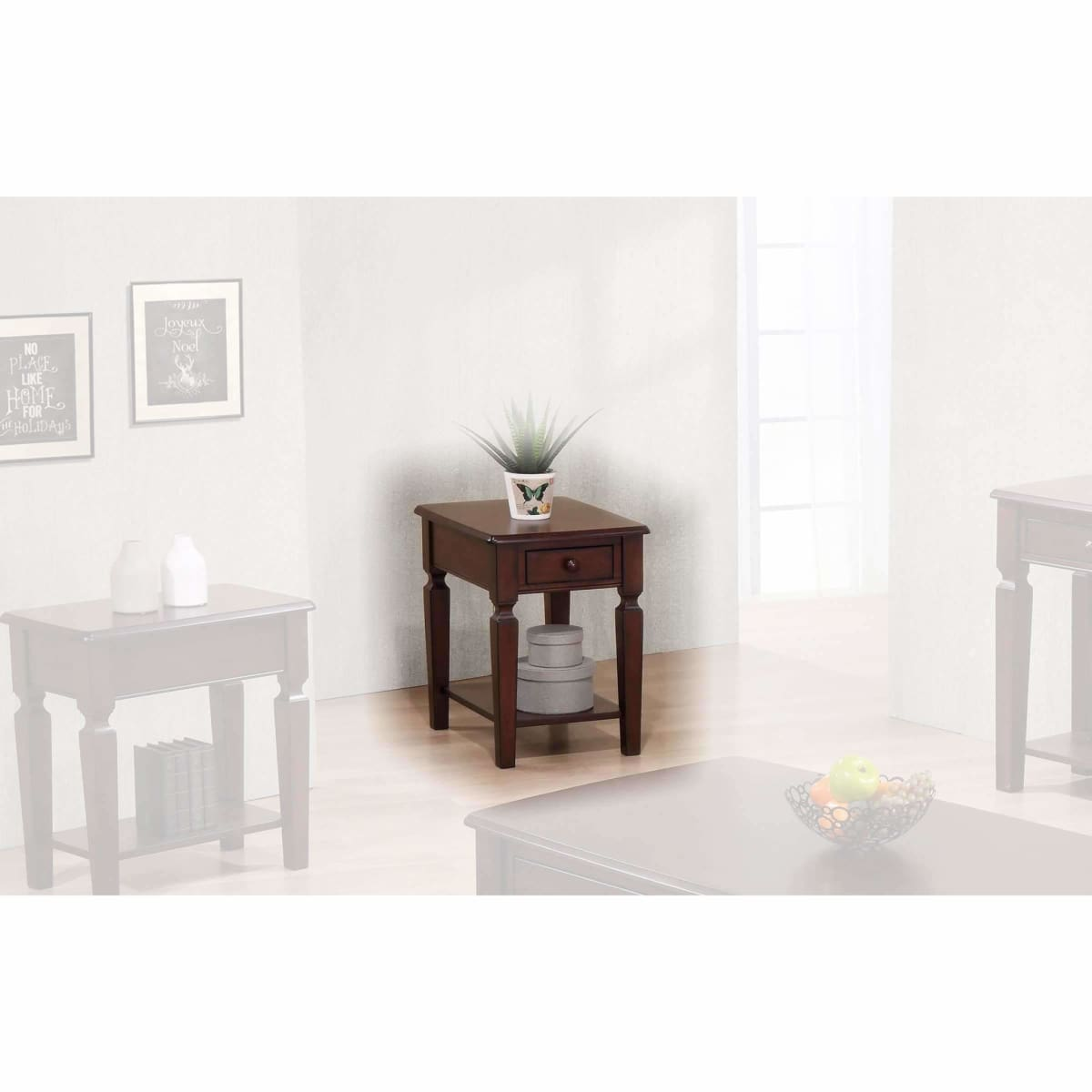 Santa Fe 18 End Table - END TABLE/SIDE TABLE