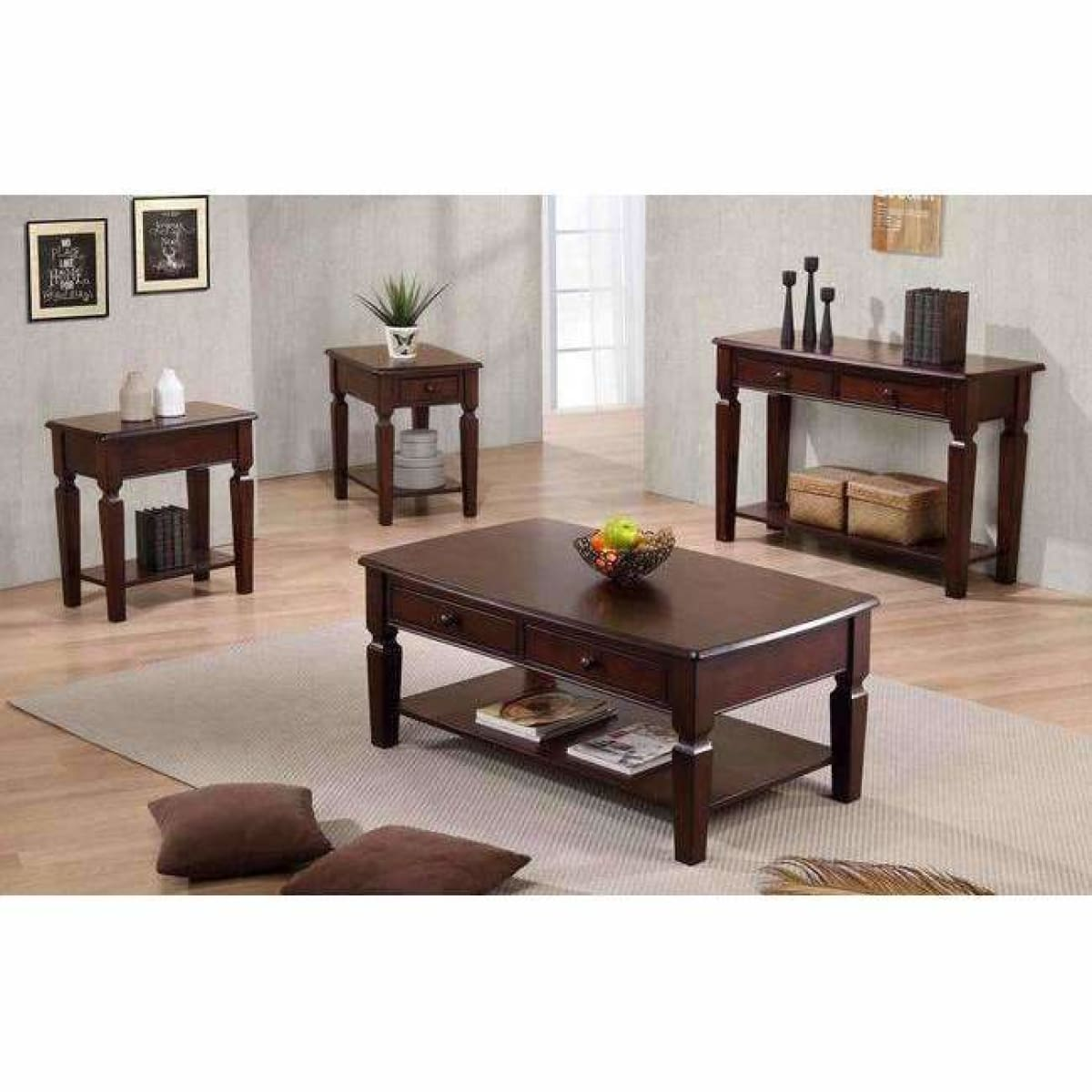 Santa Fe 48 Coffee Table - COFFEE TABLE