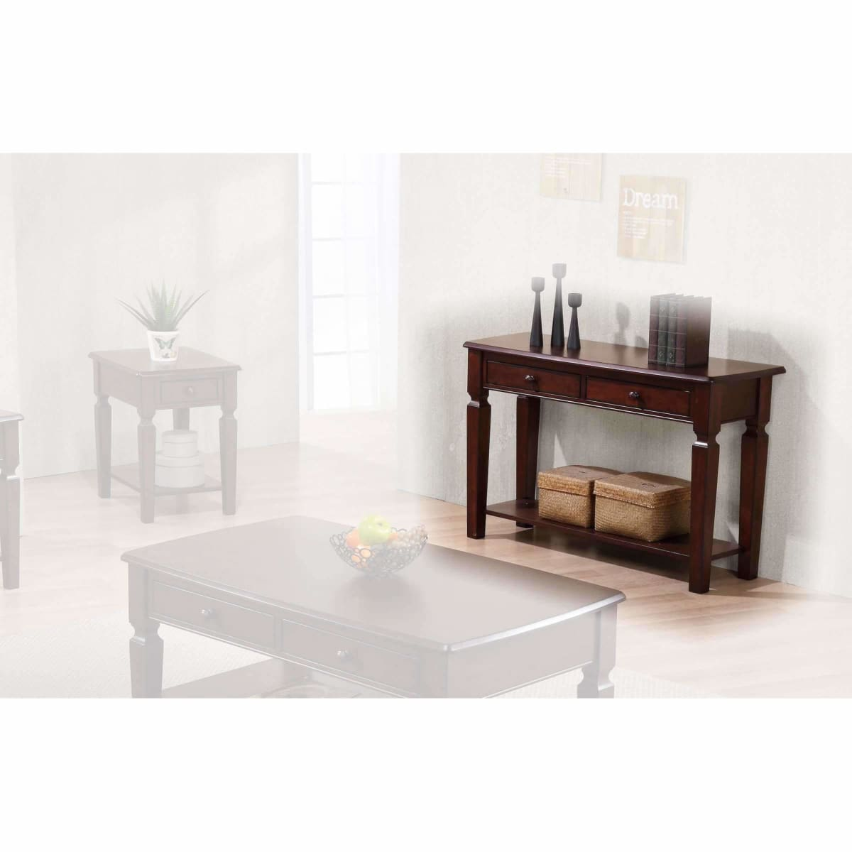 Santa Fe 48 Sofa Table - CONSOLE TABLE