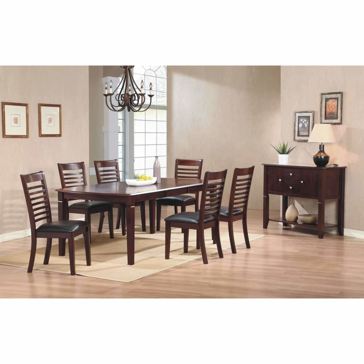 Santa Fe Leg Table - DININGCOUNTERHEIGHT