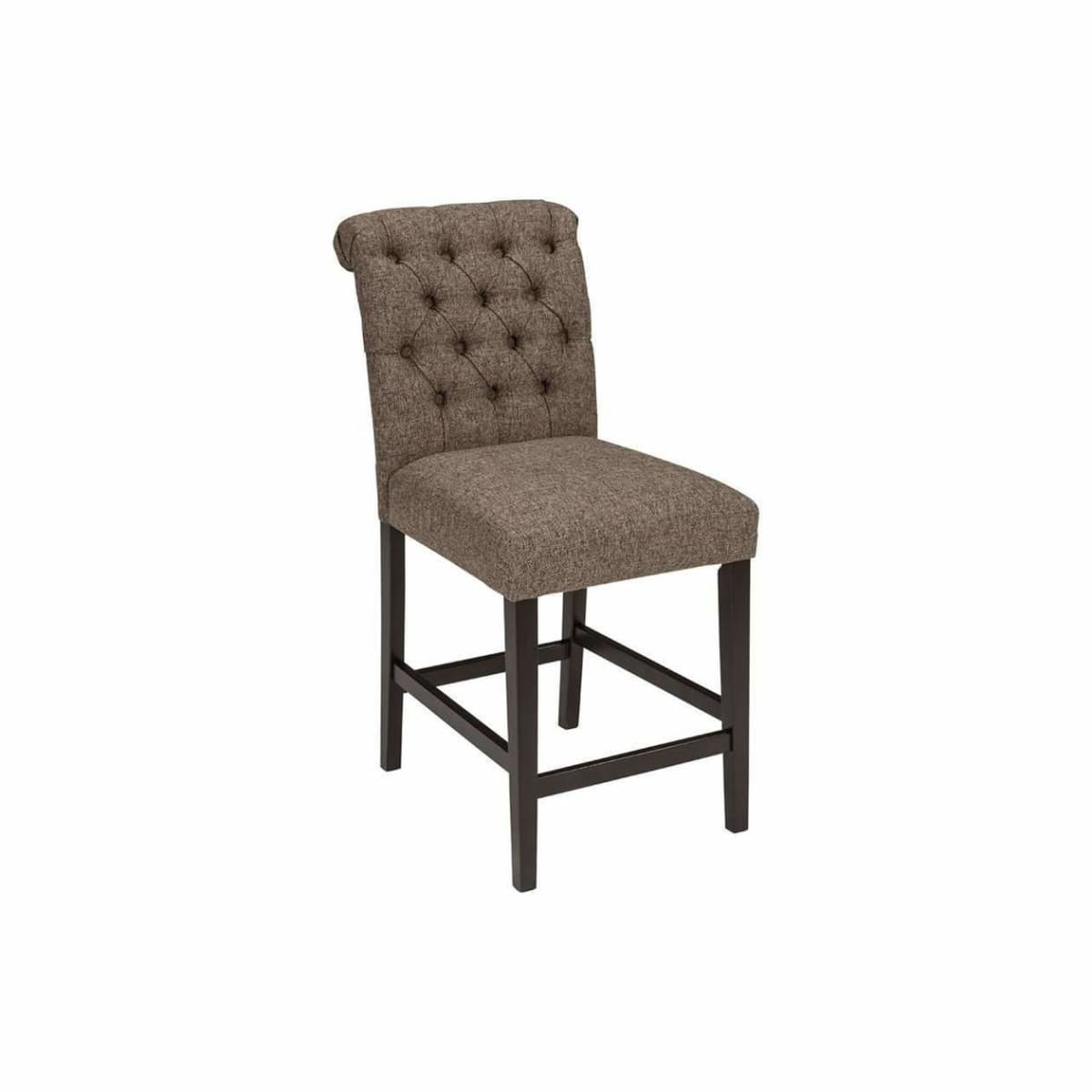 Tripton Graphite Counter Height Bar Stool - BAR STOOL