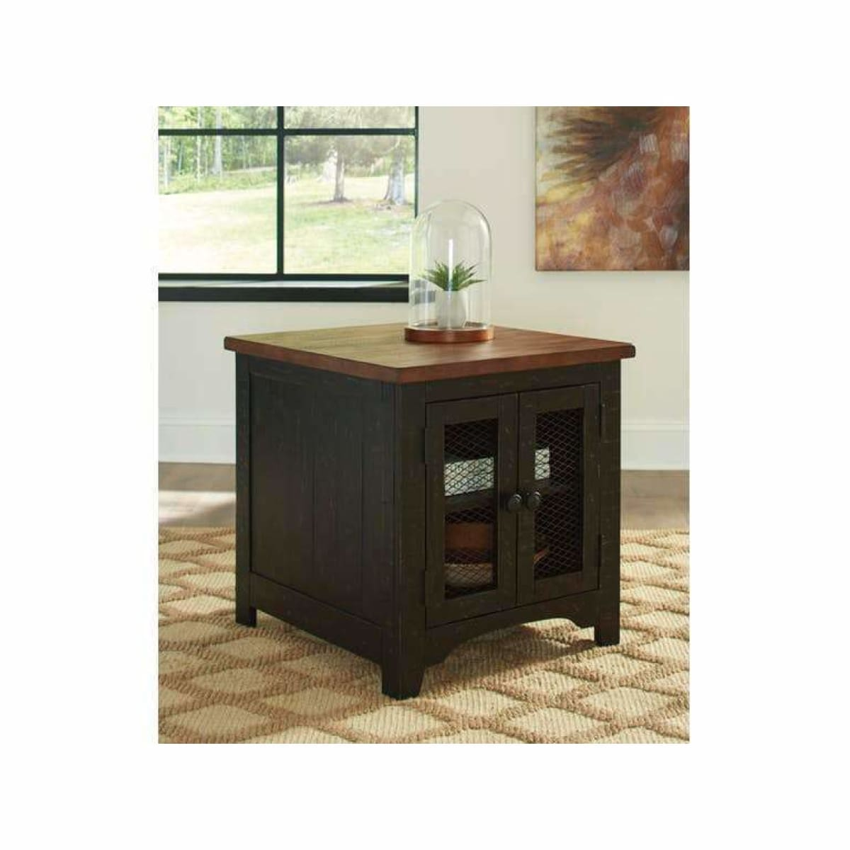 Valebeck End Table - END TABLE/SIDE TABLE