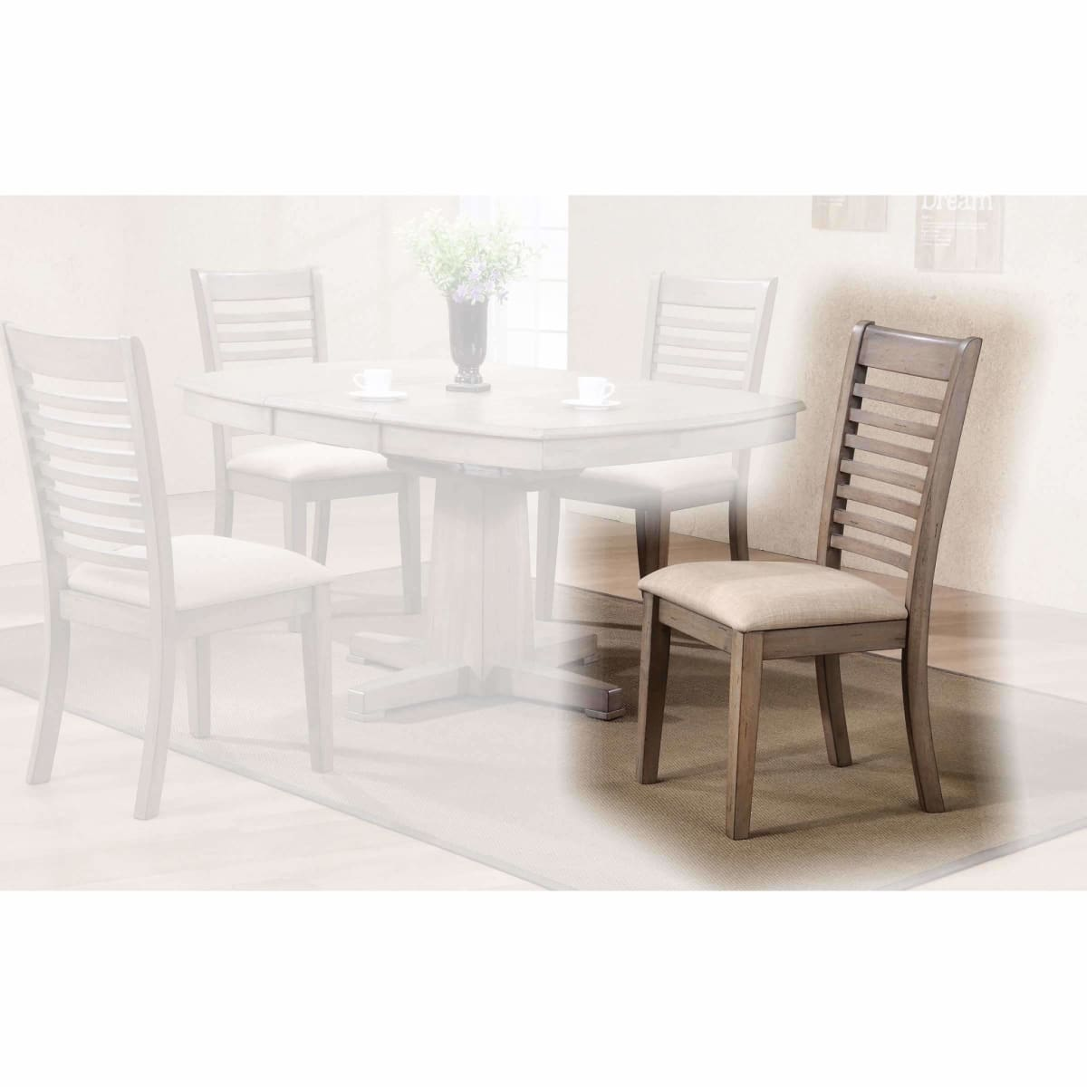 Ventura Ladderback Chair - dining chairs