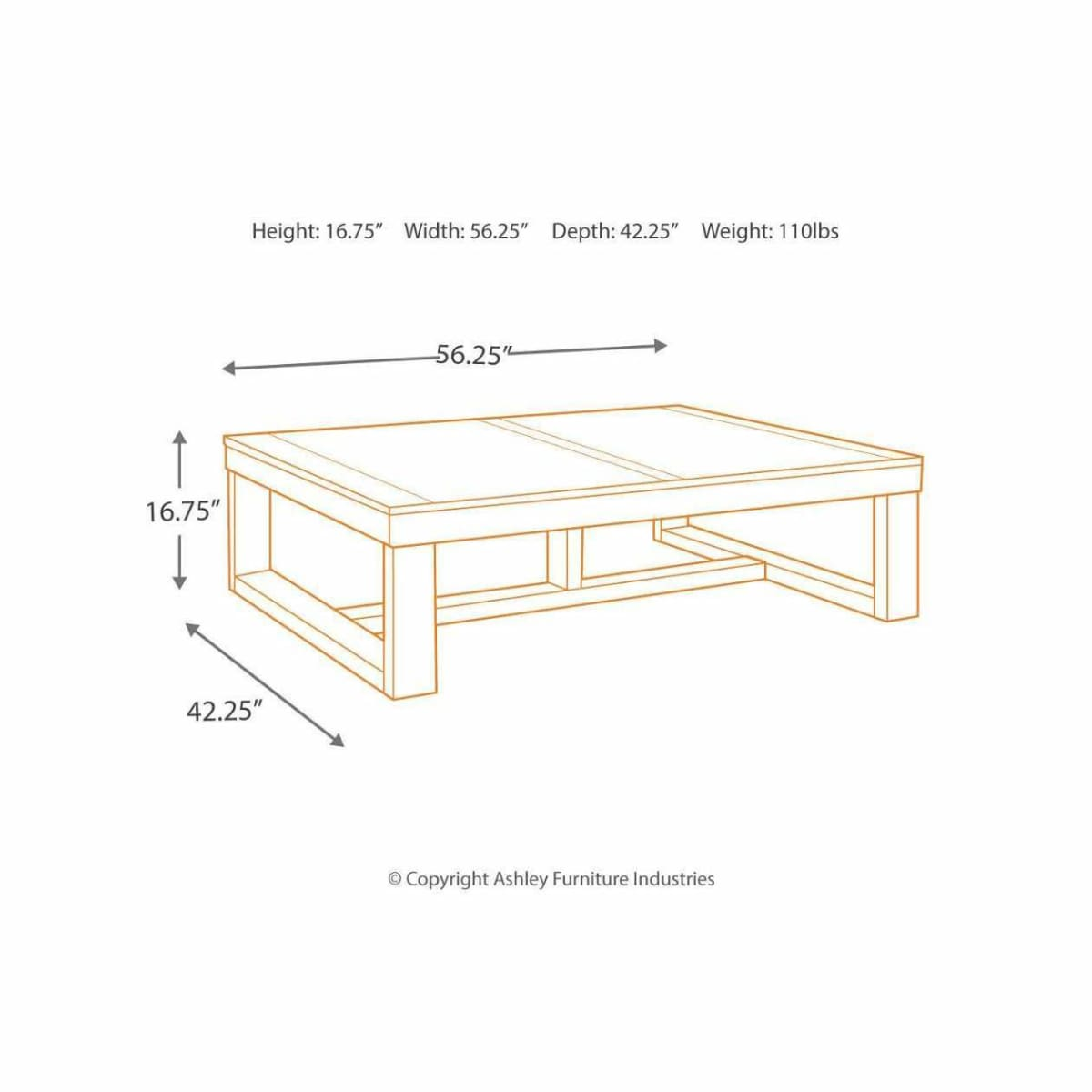 Watson Coffee Table - COFFEE TABLE