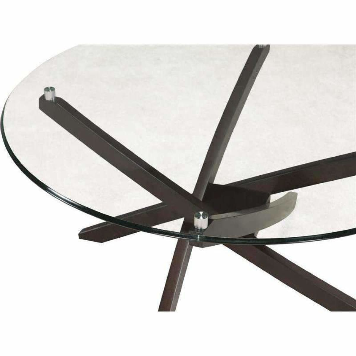 Xenia Oval Cocktail Table - COFFEE TABLE