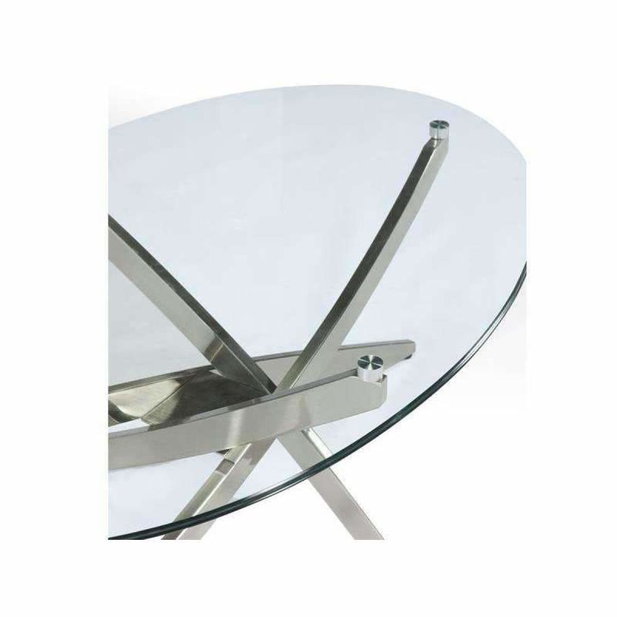 Zila Round Cocktail Table - COFFEE TABLE