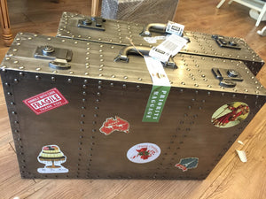 DELECTABLES BY ANTIQUE Premium Luggage Hamper: Relax Travels
