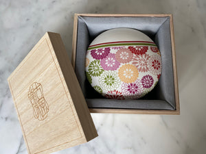 Ceramic Lantern with Mooncakes 雙層陶瓷通花器皿