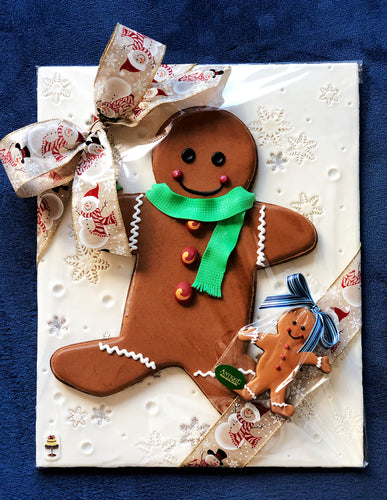GIANT GINGY with assorted sizes gingerbread cookie