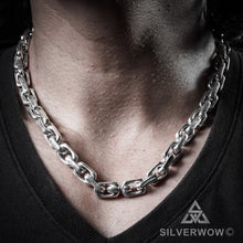 "10mm x 20"" Chain Link Necklace"