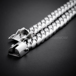 "10mm x 20"" Chain Link Necklace lock ends"