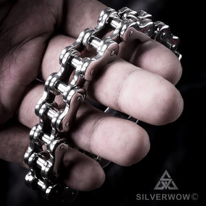 Super Heavy Bike Chain Bracelet