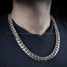 15mm Cuban Link Necklace Chain