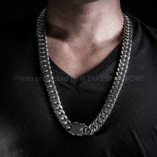 Chunky Curb Mens Necklace Chain 15mm Wide