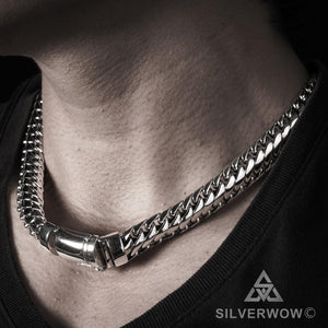 15mm Woven Snake Necklace