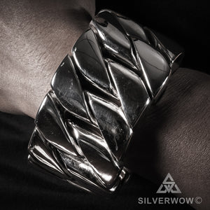 1KG Mens 45mm - The Worlds Heaviest Bracelet !