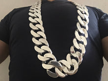40mm Mens Curb Link Necklace