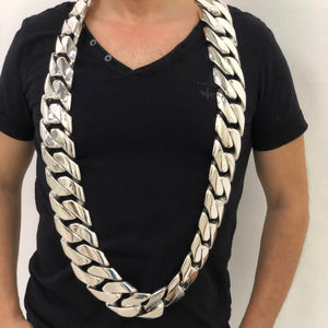 6.3 KG. The Planets Heaviest Cuban Necklace Chain ?