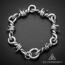 Mens Barb Wire Bracelet