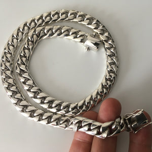 10mm Miami Cuban Link Chain Necklace