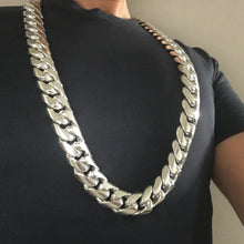 25mm Cuban Link Necklace Chain