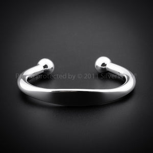 Heavy ID Torque Bangle 10mm
